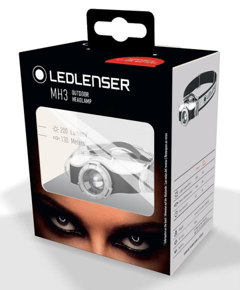 Ledlenser MH3 naglavna svjetiljka