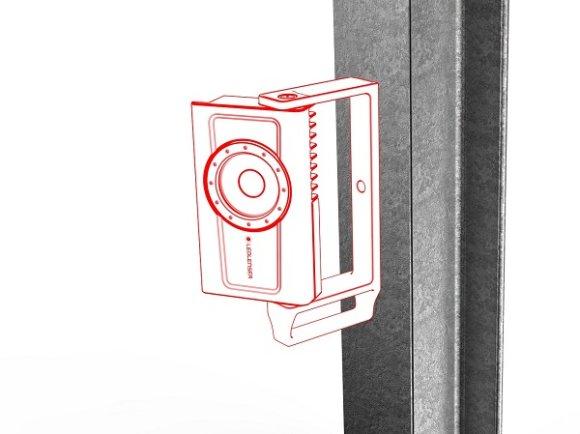 Ledlenser iF4R radna svjetiljka, kutija