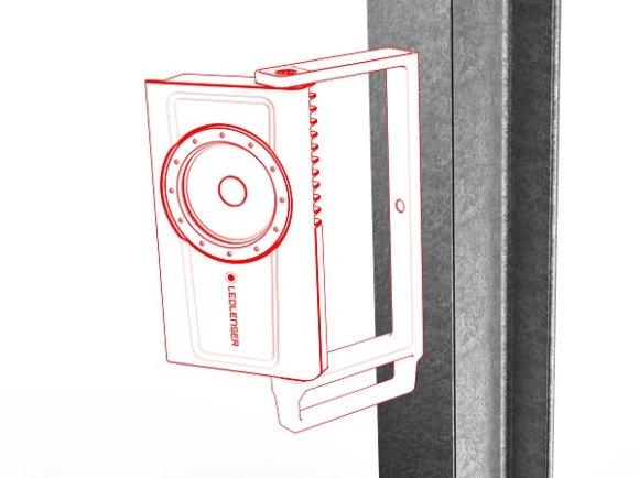 Ledlenser iF8R radna svjetiljka, kutija