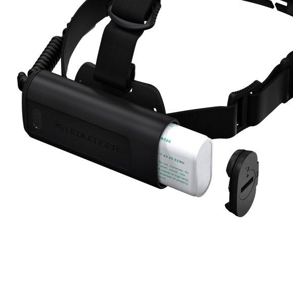 Ledlenser H15R Core Crna naglavna svjetiljka